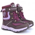 Термоботинки Tom M 5890e Purple, зимние детские сапоги на девочку