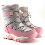 Термоботинки Tom M 7882a Pink, зимние детские сапоги на девочку