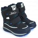 Термоботинки B&G HL209-813 темно-синий, сапоги на мембране