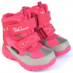Термоботинки B&G R20-2065 фуксия розовый, сапоги на мембране