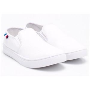 American CLUB HJ-1503 Слипоны белые
