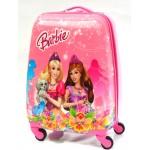 Детский чемодан 16-Barbie 45см