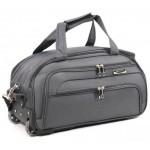 Дорожная сумка на колесах MERCURY 41100 серая 48x28x28см