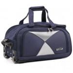 Дорожная сумка на колесах MERCURY 41300 синяя 48x28x28см