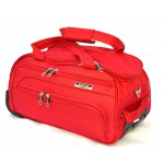 Дорожная сумка на колесах MERCURY 41100 красная 58x32x31см