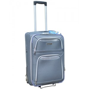 Чемоданы MERCURY бизнес класса 21510 серый 71x48x30см