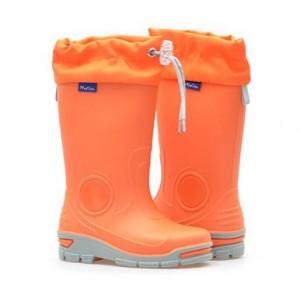 Резиновые сапоги Muflon 23-487 оранжевые)