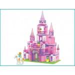Конструктор SLUBAN 0152 Замок для принцессы, 472 детали