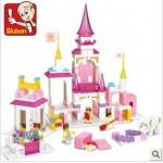 """Конструктор SLUBAN 0251 """"Замок принцессы"""", 385 деталей"""