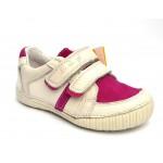Туфли D.D.Step 036-13dm Cream кожаные