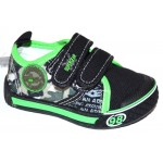 Мокасины SUPER GEAR A9449 black-green