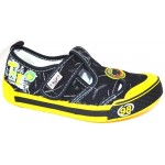 Мокасины SUPER GEAR A9918 black/yellow